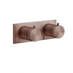 316 Shower Sichtteil UP-Thermostat 1 Abgang Copper brushed