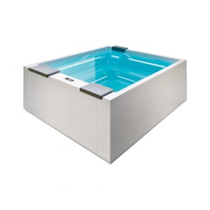 Muse GP Outdoor-Whirlpool 2800x2350mm H-980mm weiß